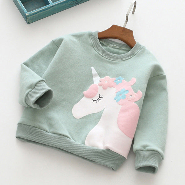 Unicorn Jacket Original Green - Unicorn in Wonderland