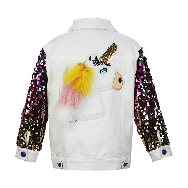 Unicorn Jacket Original White - Unicorn in Wonderland