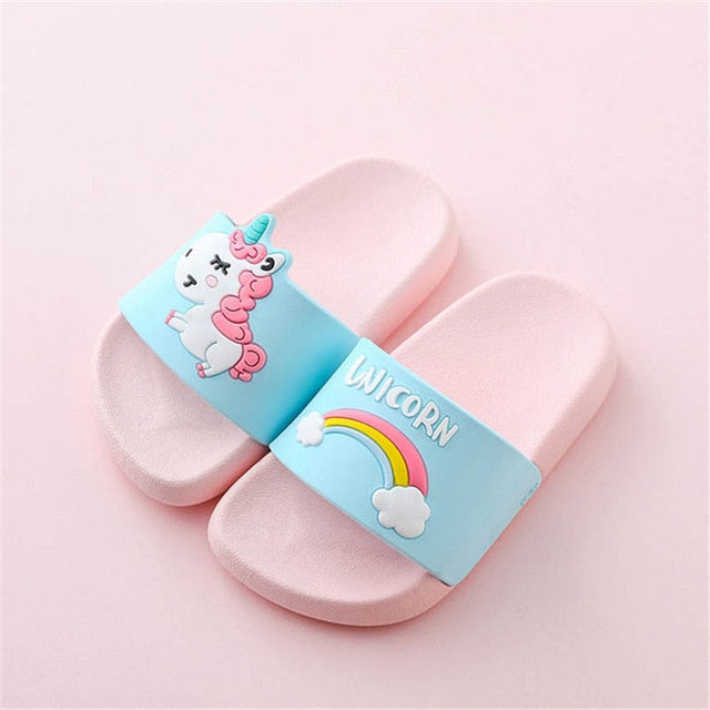 Unicorn Slipper Sandal Pink - Unicorn in Wonderland