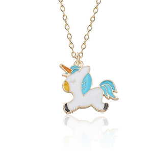 Unicorn Necklace Jumping - Unicorn in Wonderland