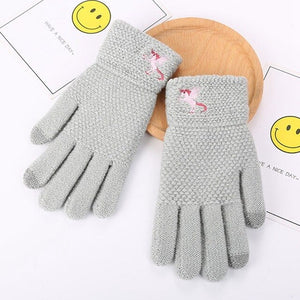 Unicorn Glove Winter Gray - Unicorn in Wonderland