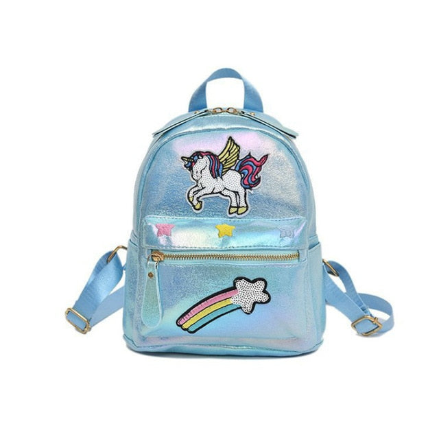Unicorn Backpack Shooting Star Blue - Unicorn in Wonderland