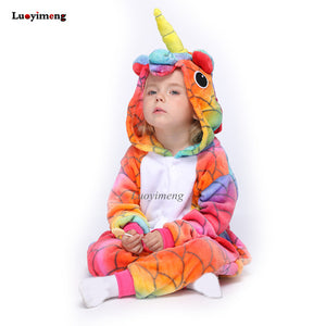 Unicorn Pyjama Dinosaur Baby Suit - Unicorn in Wonderland