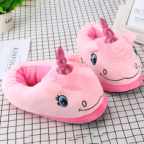 Unicorn Slipper Pink Full Sheep - Unicorn in Wonderland