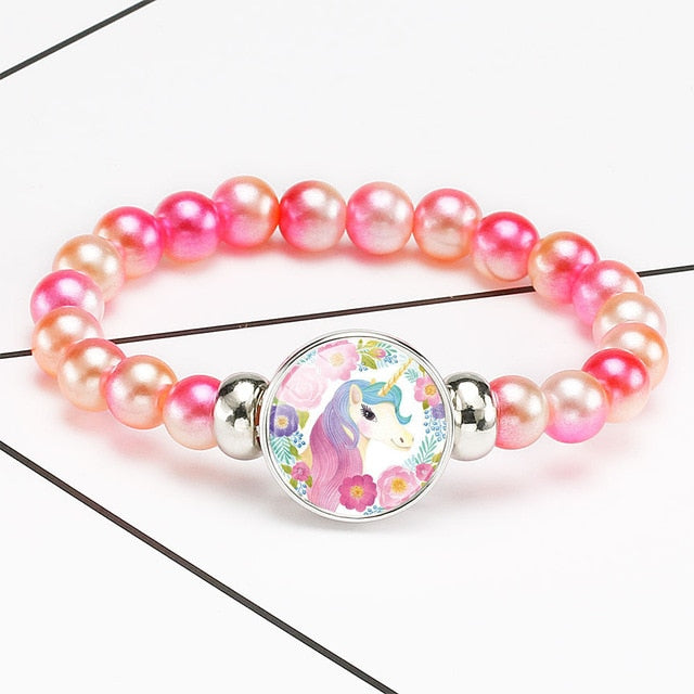 Unicorn Bracelet Happy - Unicorn in Wonderland
