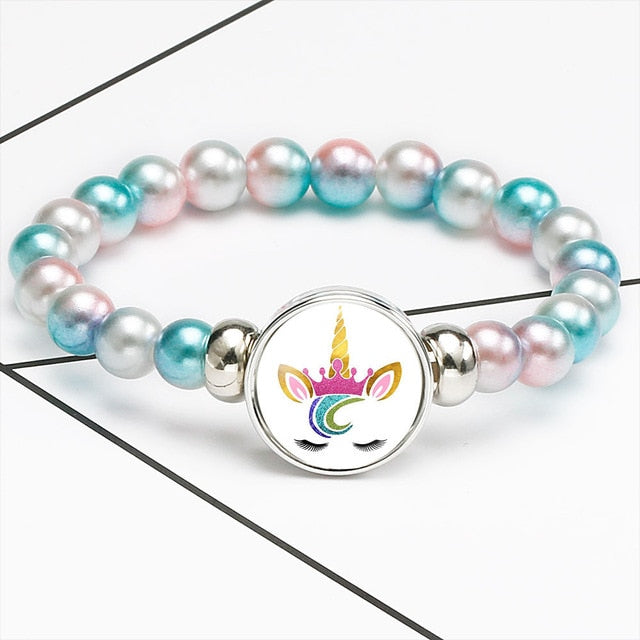 Unicorn Bracelet Cute Hair Style - Unicorn in Wonderland