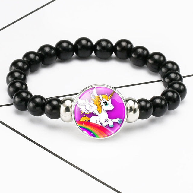 Unicorn Bracelet Rainbow - Unicorn in Wonderland