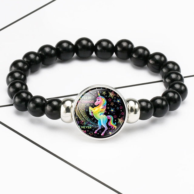 Unicorn Bracelet Never Deny Things - Unicorn in Wonderland