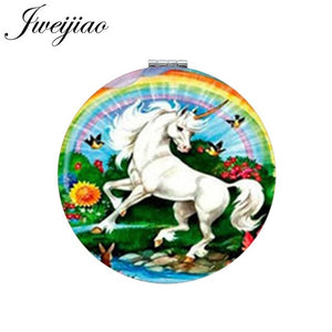 Unicorn Rainbow Bird Mirror - Unicorn in Wonderland