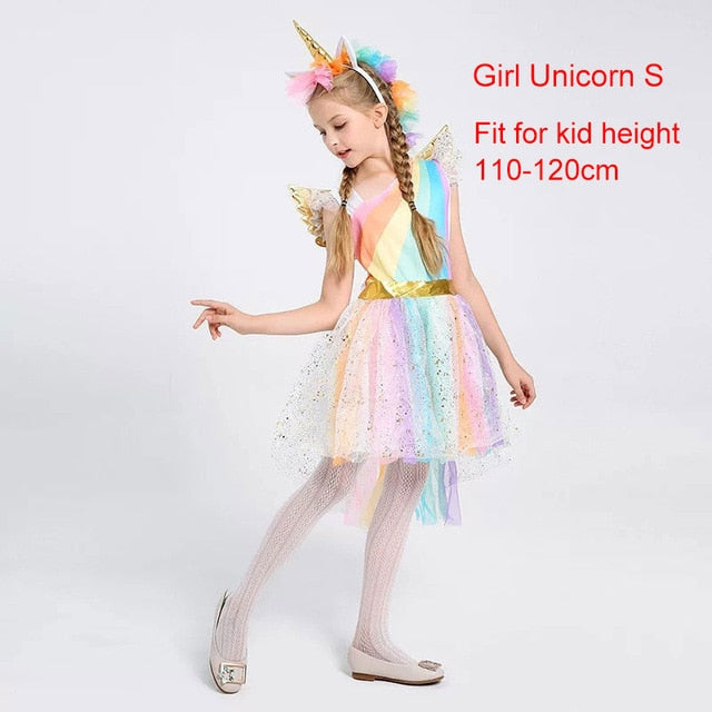 Unicorn Costume Fairy White S - Unicorn in Wonderland