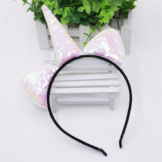 Unicorn Headband Blue - Unicorn in Wonderland
