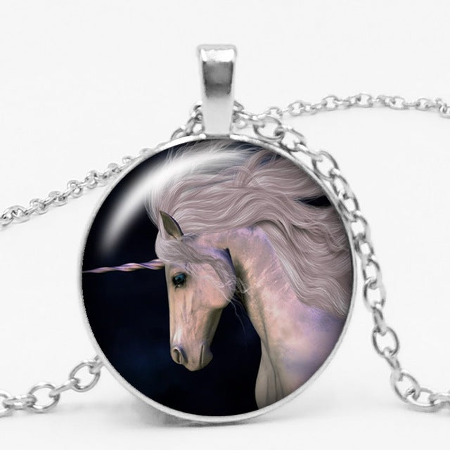 Unicorn Necklace Thinking Circle - Unicorn in Wonderland