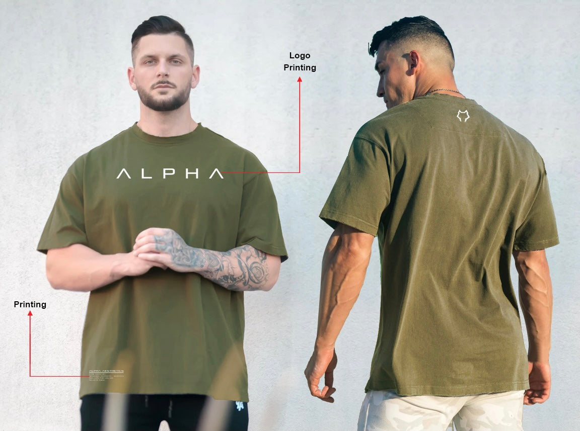 Hex Tee - Army