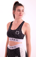 Load image into Gallery viewer, Athena Sport Bra - Midnight Black