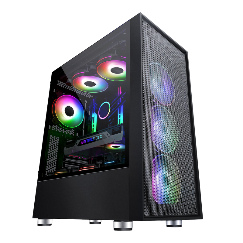 Gadger Gaming PC Case With full Mesh Support