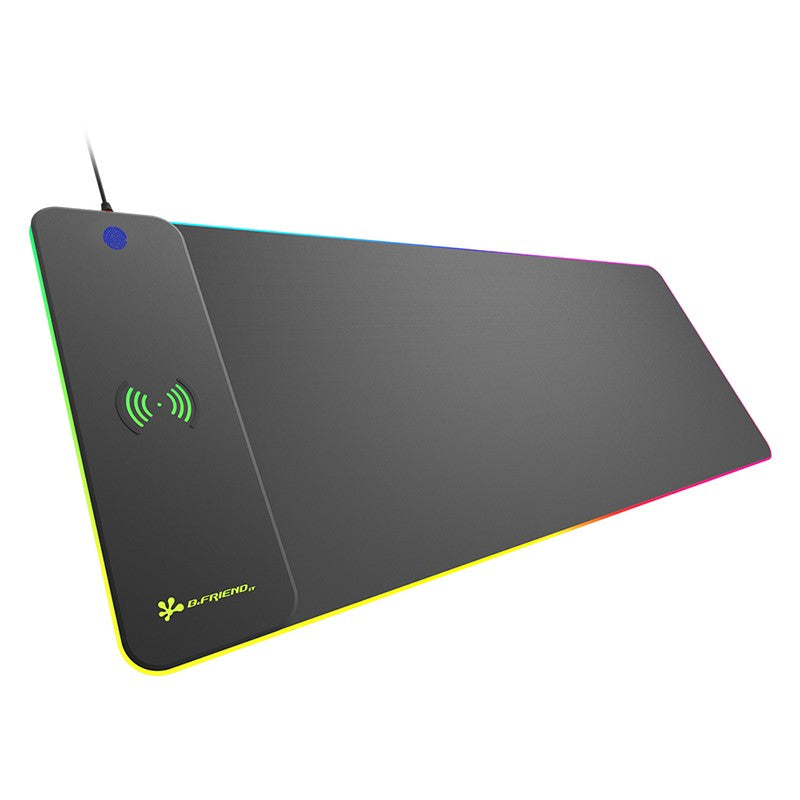 Gadger RGB Standard Gaming Mouse Pad With Wireless Charger