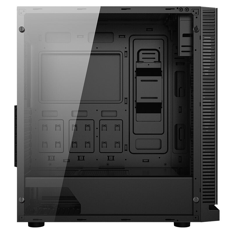 Gadger RGB  Steel Aluminum Tempered Glass ATX Full Tower PC Case