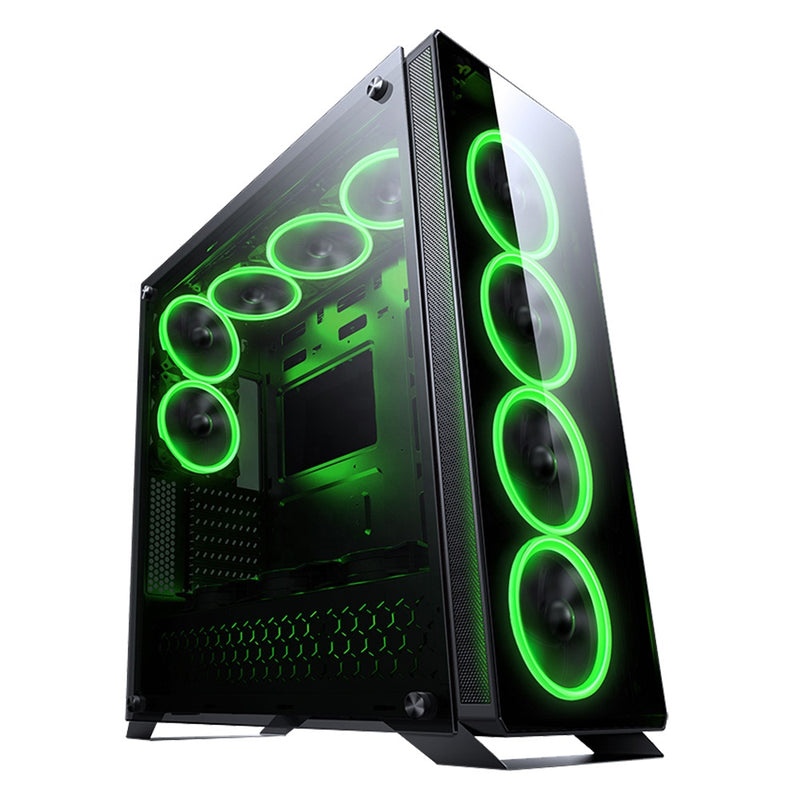 Gadger Full Tower EATX Tempered Glass PC Case