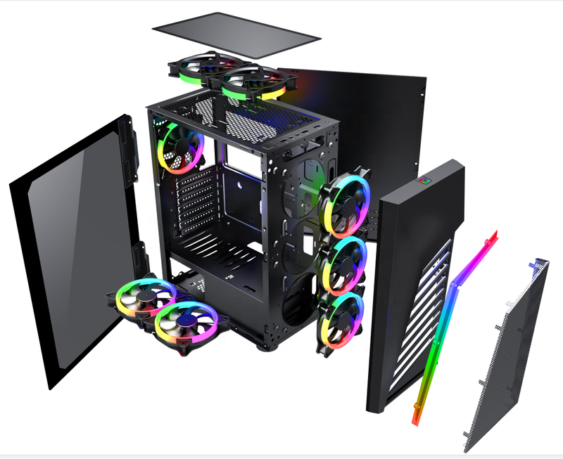 Gadger  210mm Width  Full Tower PC Case