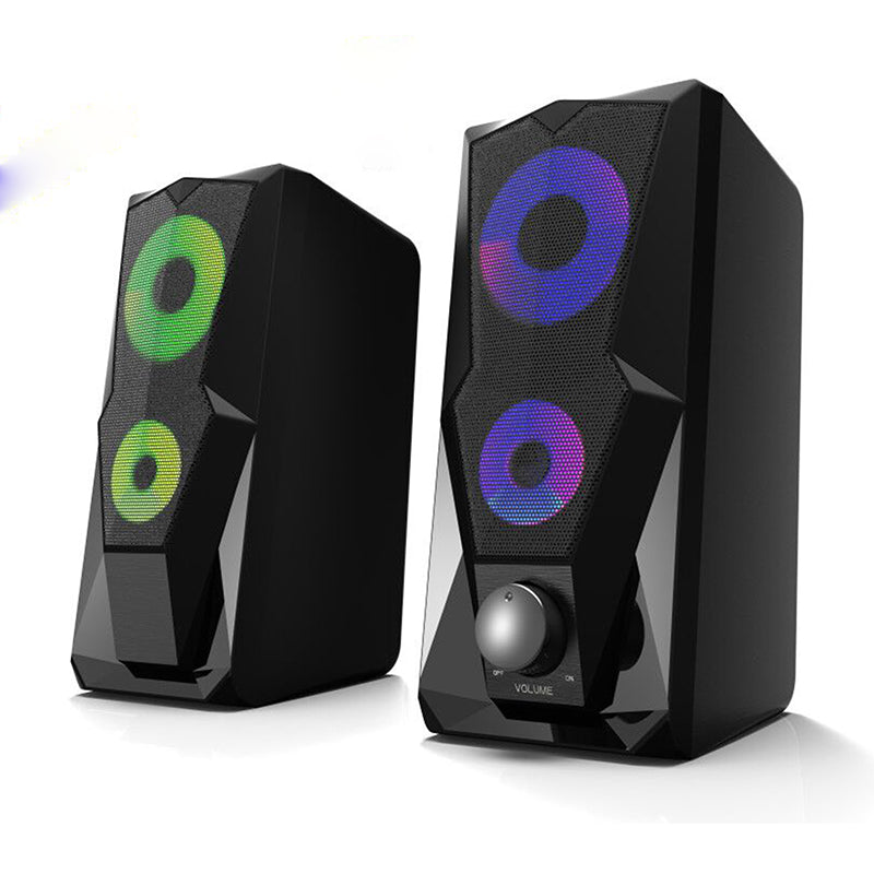 Gadger 2.5 USB Gaming RGB LED Speakers