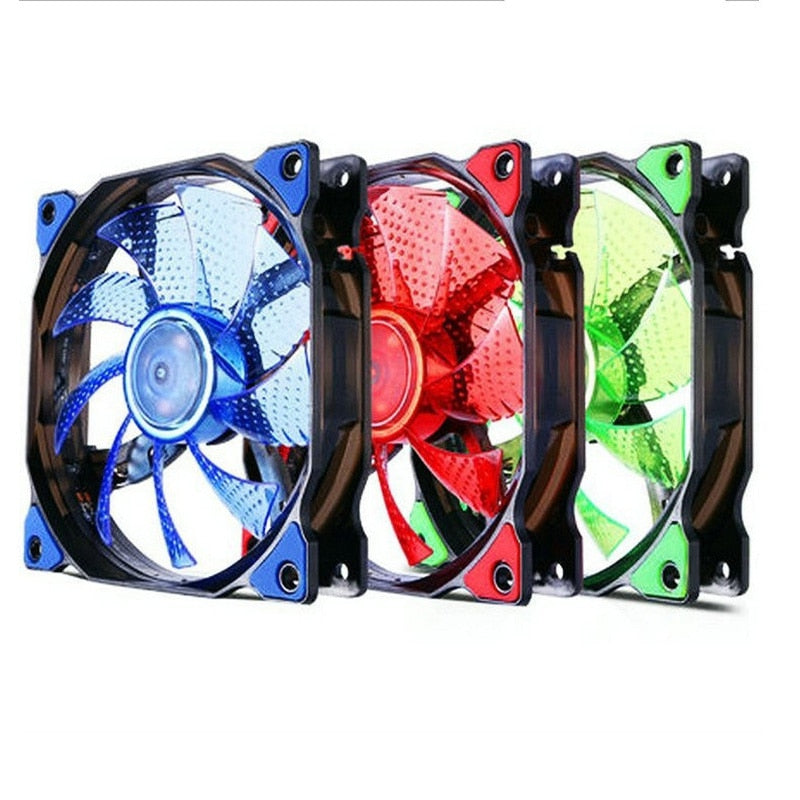 Gadger LED RGB 120mm Cooler Fan Computer Case