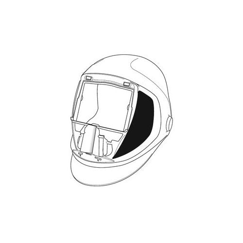 3M™ Speedglas™ Helmet 9100, Welding Safety 06-0300-52SW, with Side Windows