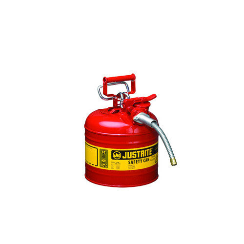 Can, 2 Gal. Flammables (Gas) Type 2 Red