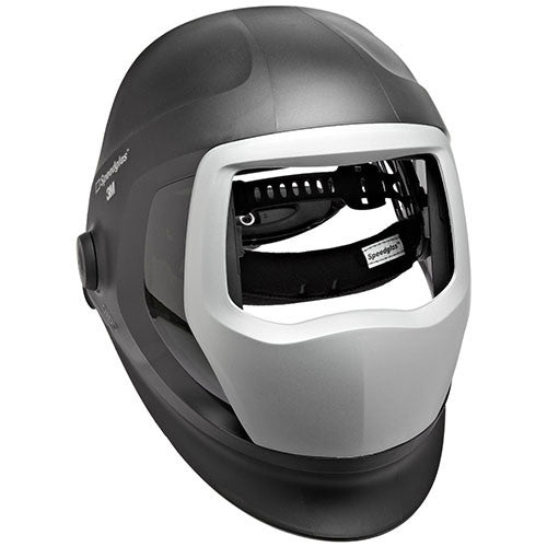 3M™ Speedglas™ Helmet 9100, Welding Safety 06-0300-51SW, with SideWindows with Headband and Silver Front Panel