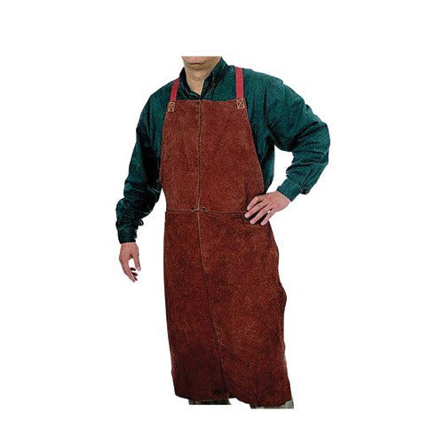 Anchor - Bib Apron - Leather