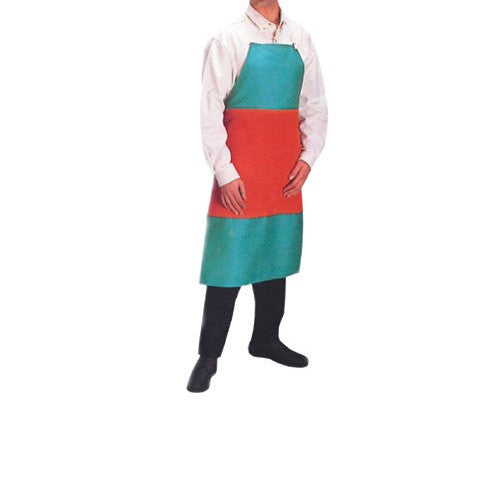 Anchor - Bib Apron - Cotton Sateen with Leather Patch