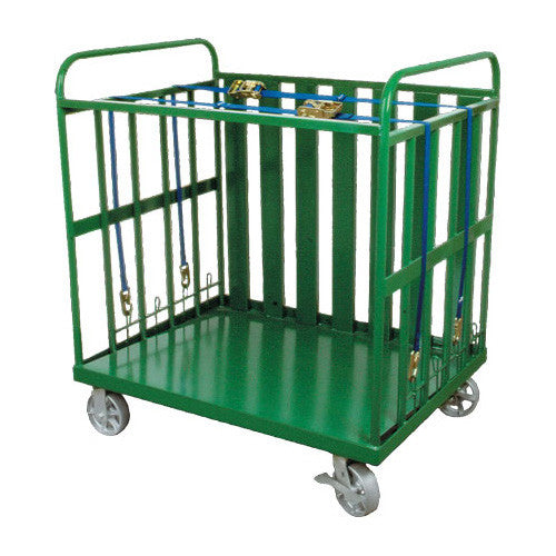 Heavy-Duty Multi-Cylinder Delivery Cart