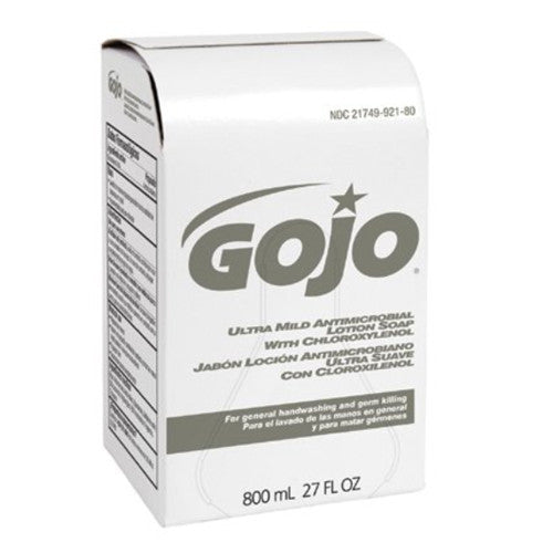 GOJO Ultra Mild Antimicrobial Lotion Soap with Chloroxylenol