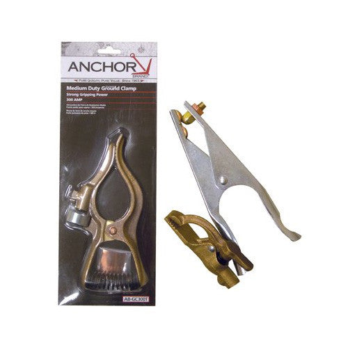 Anchor - Brass - Ground Clamp - 200 Amp