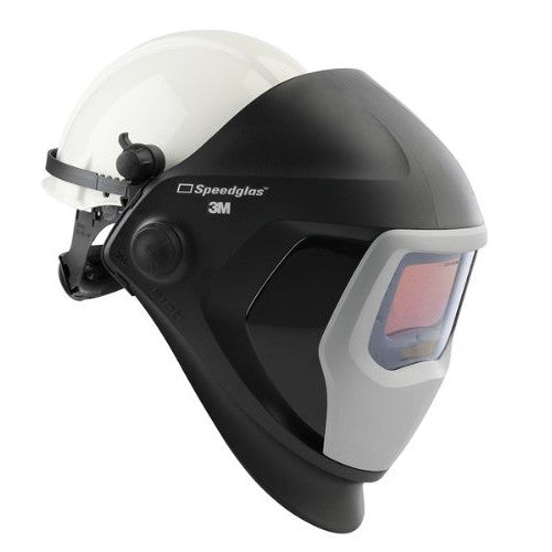 3M™ Speedglas™ Welding Helmet 9100 - Hard Hat, SideWindows and Auto-Darkening Filter 9100X, Shades 5, 8-13