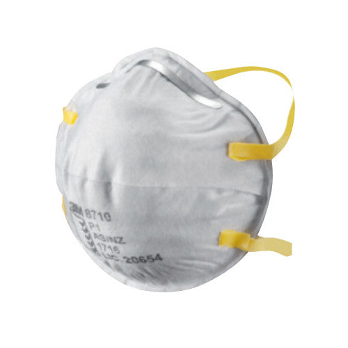 3M 8710 Particle Mask, Dust and Mist