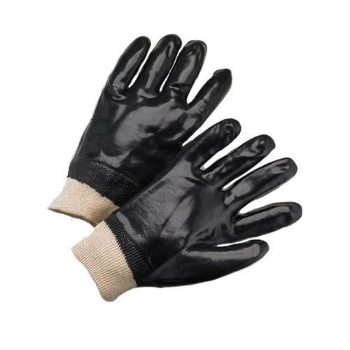 PVC Fully Coated Smooth Interlock Lined Gloves 12 Pack