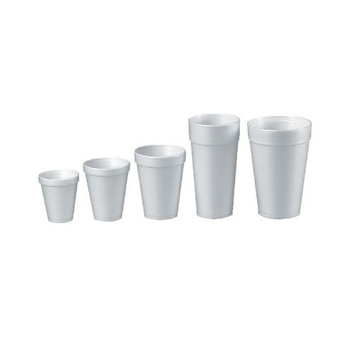 Small Foam Cups (Case of 1000)