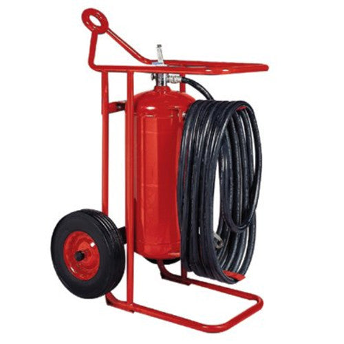 Wheeled Fire Extinguisher Unit