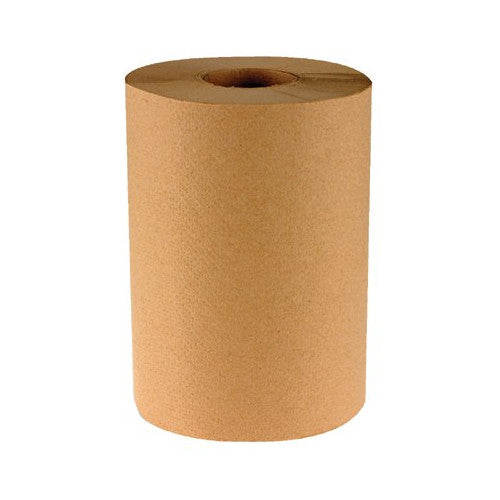 Natural Hardwound Roll Paper Towels, 8