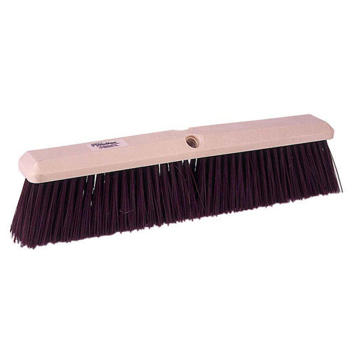 Perma-Sweep Maroon Polypropylene 24