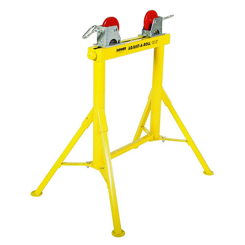 Sumner Hi Adjust-A-Roll Stand with Steel Wheels