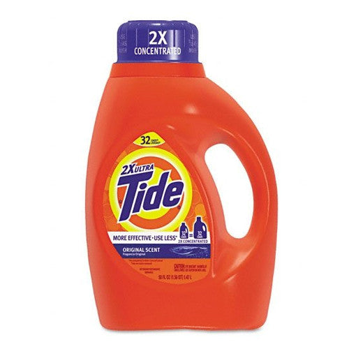 Tide Liquid 2x Original 32 Load 50 oz Pack of 6