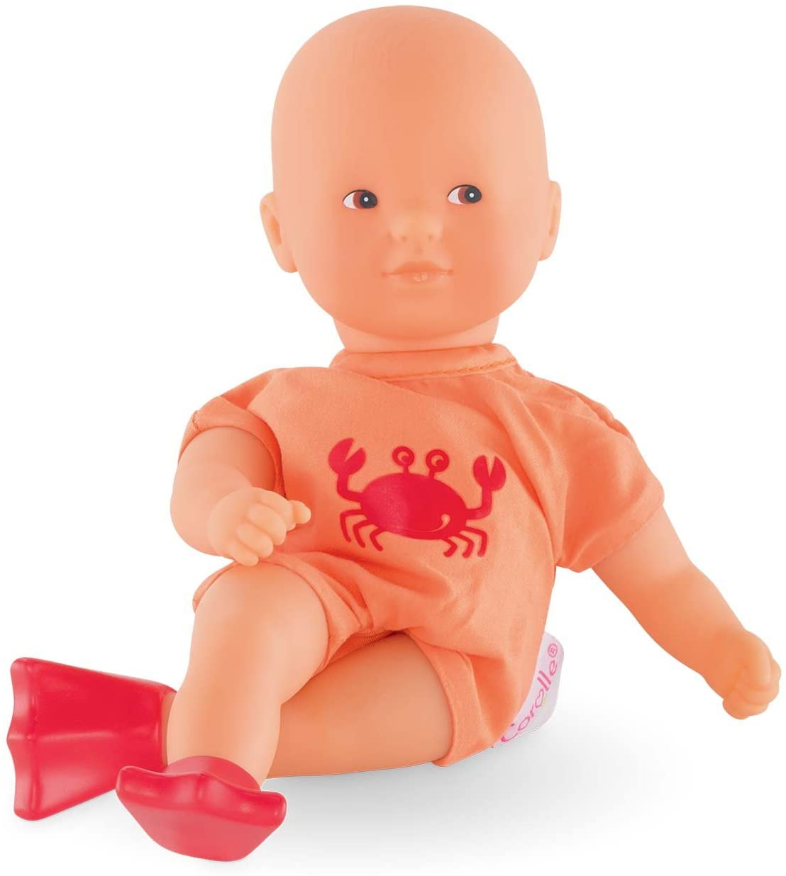 Corolle Mon Premier Poupon Mini Bath Orange Toy Baby Doll