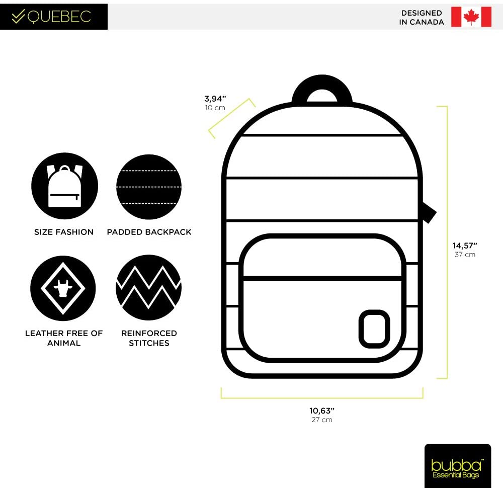 Bubba Bags Canadian Design Backpack Quebec
