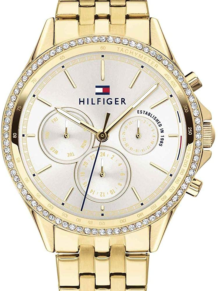 Tommy HilfigerLadies Analog Silver Business Quartz Tommy Hilfiger 1781977