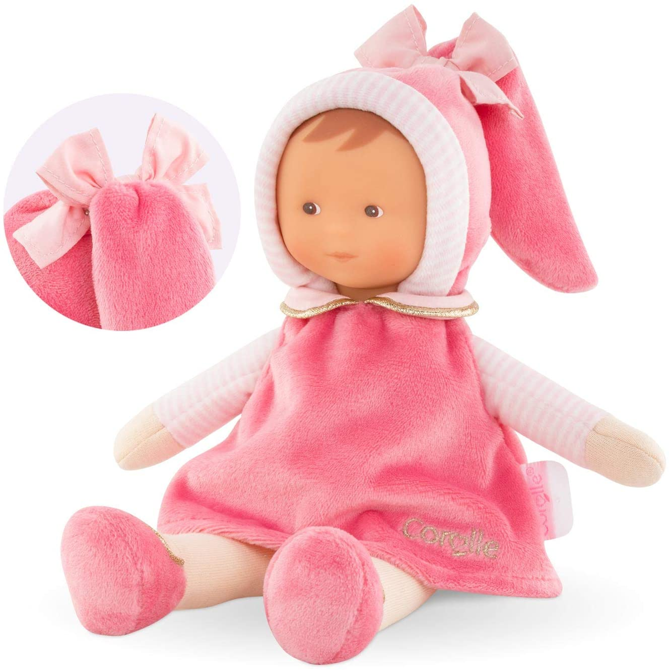 Corolle- Miss Rose Dreamland Doudou doll