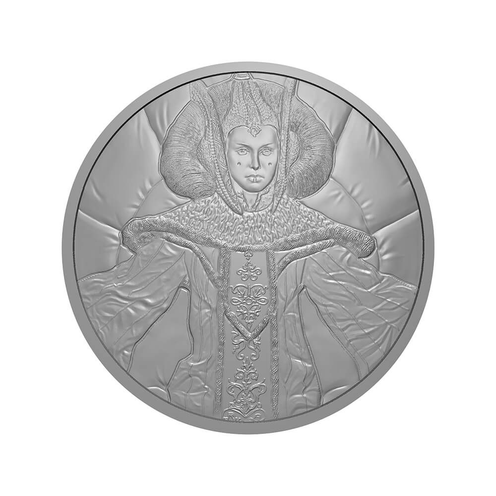 Star Wars Skywalker Family Silver Medal Cover Limited Edition