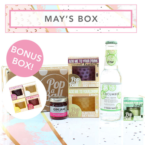 prosecco and gin subscription box