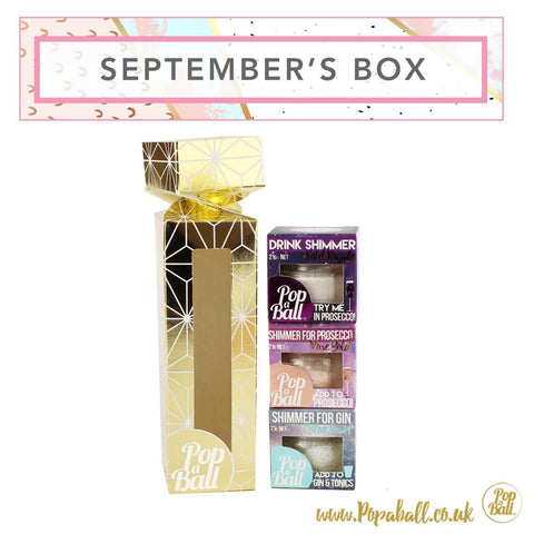 September Subscription Box with Shimmer Gift Box