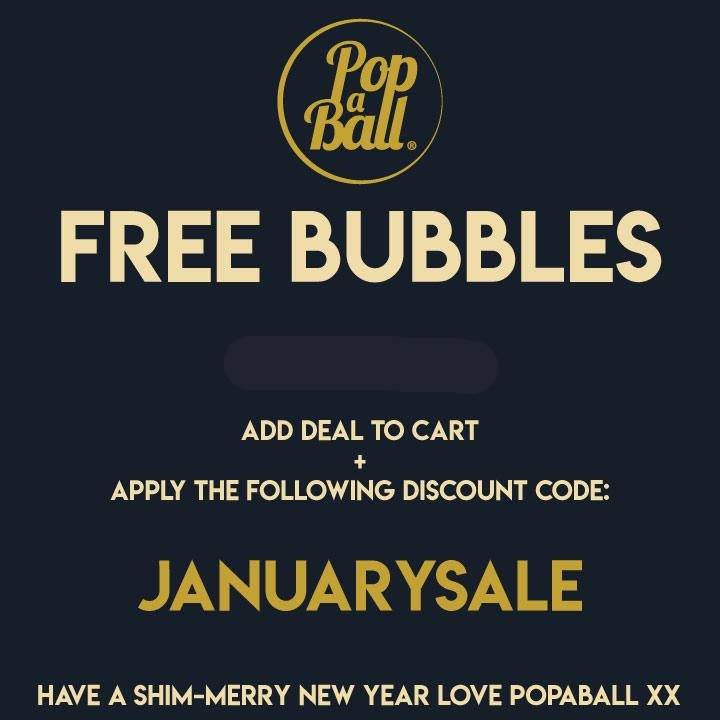 FREE BUBBLES TO ENJOY THIS WINTER!